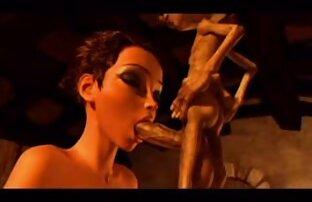 Selezione film con donne nude di sexy di un modello porno giovane sul pene dei diversi partner